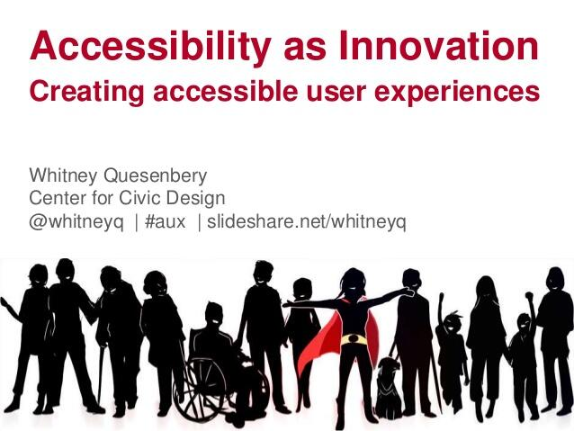 Accessibility as Innovation